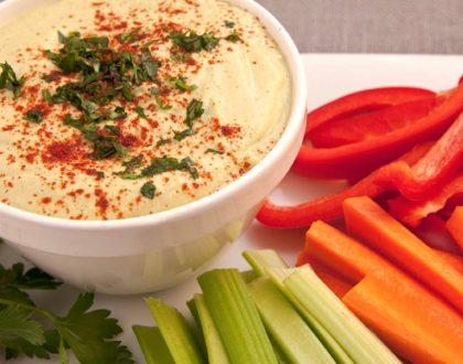 El clásico Hummus