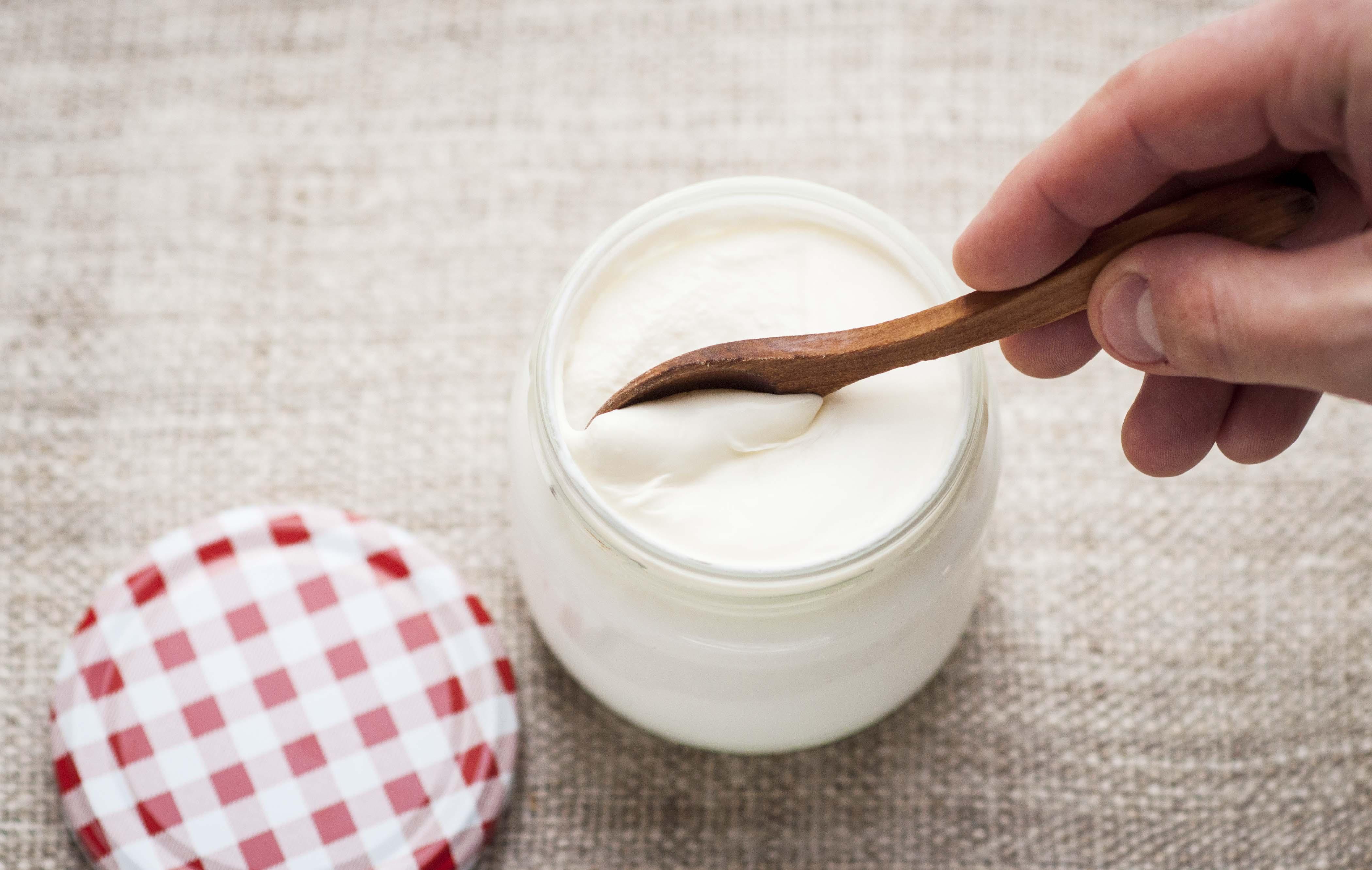 Yogurt Casero con Leche Cruda