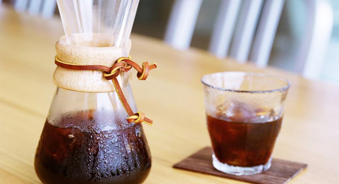 Una nueva técnica importada para tomar café sin acidez: COLD BREW COFFEE